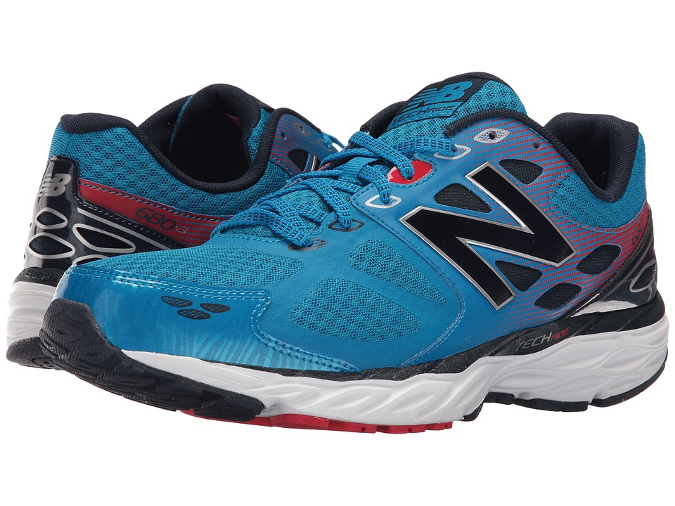 New Balance M680v3 (Blue/Red) Men