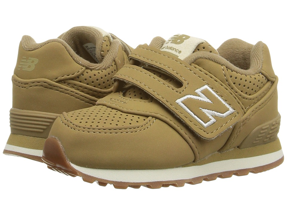 New Balance Kids - KV574v1 (Infant/Toddler) (Tan/Tan) Kids Shoes