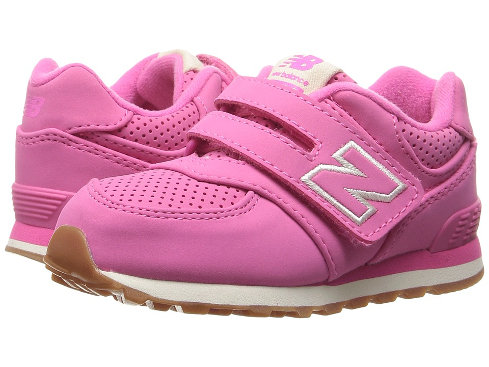New Balance Kids - KV574v1 (Infant/Toddler) (Pink/Pink) Girls Shoes