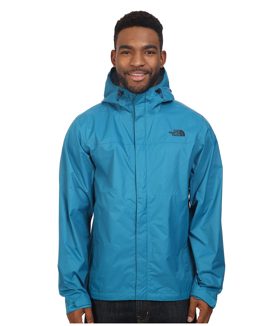The North Face - Venture Jacket (Ocean Depths Blue/Ocean Depths Blue) Men's Coat