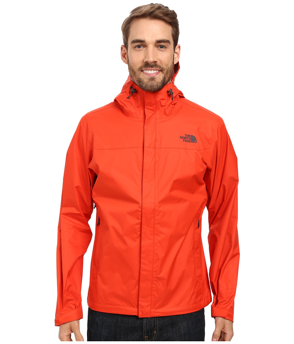 The North Face - Venture Jacket (Poinciana Orange/Poinciana Orange) Men's Coat