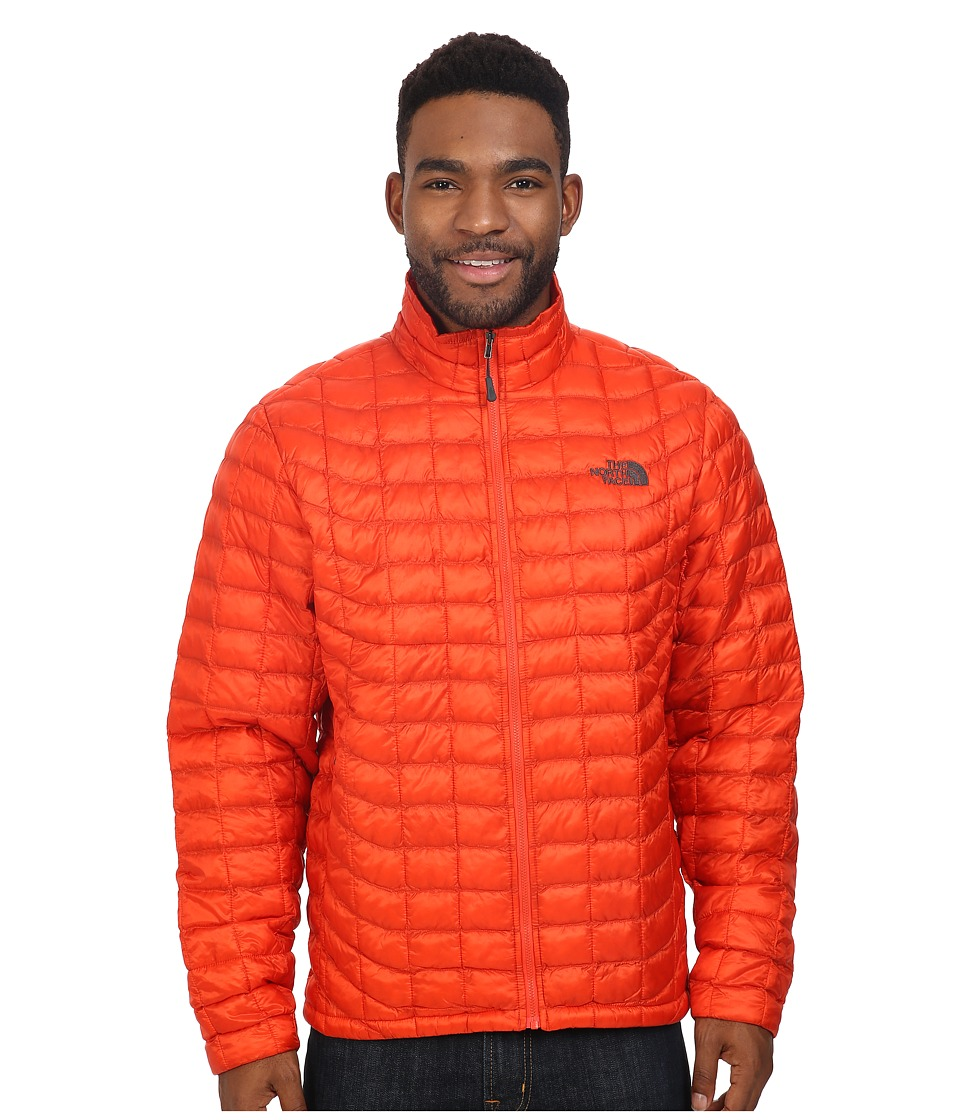 The North Face - ThermoBall Full Zip Jacket (Poinciana Orange) Men's Coat