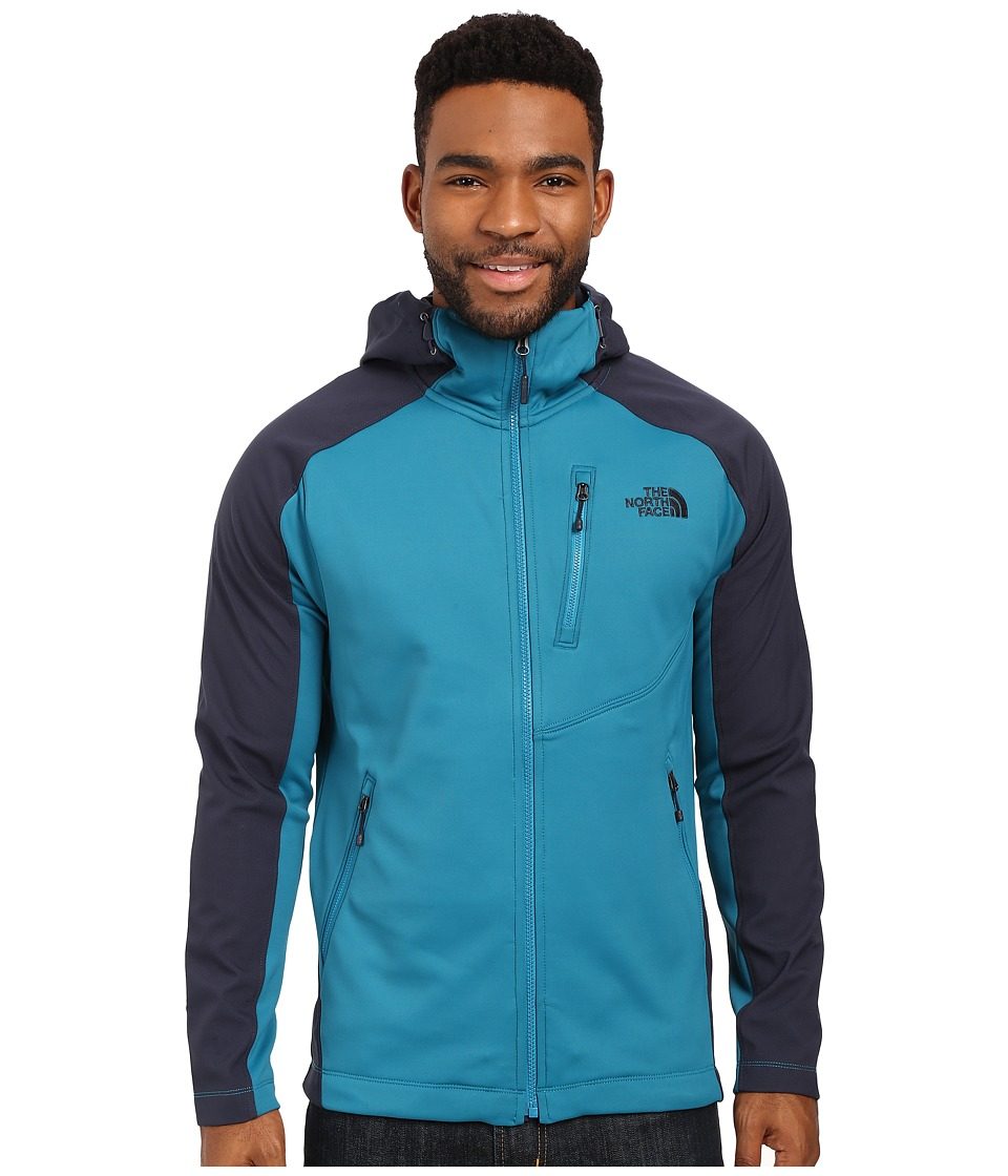 The North Face - Tenacious Hybrid Hoodie (Ocean Depths Blue/Urban Navy) Men's Sweatshirt