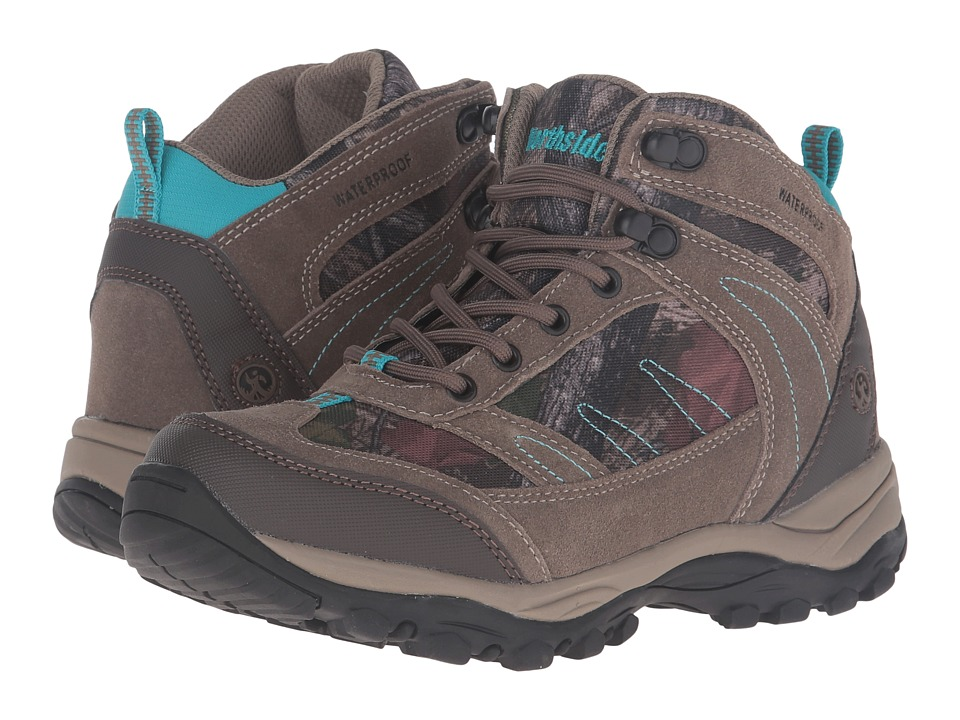 Northside - Terrace Mid Waterproof (Tan Camo) Women's Hiking Boots