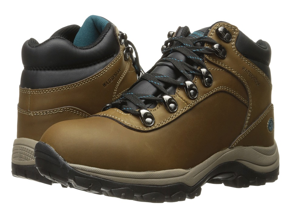 Northside - Apex Lite Waterproof (Medium Brown/Teal) Women's Hiking Boots