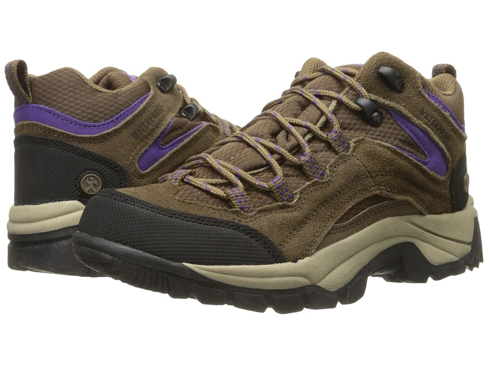 Northside - Pioneer Waterproof (Stone/Purple) Women's Hiking Boots