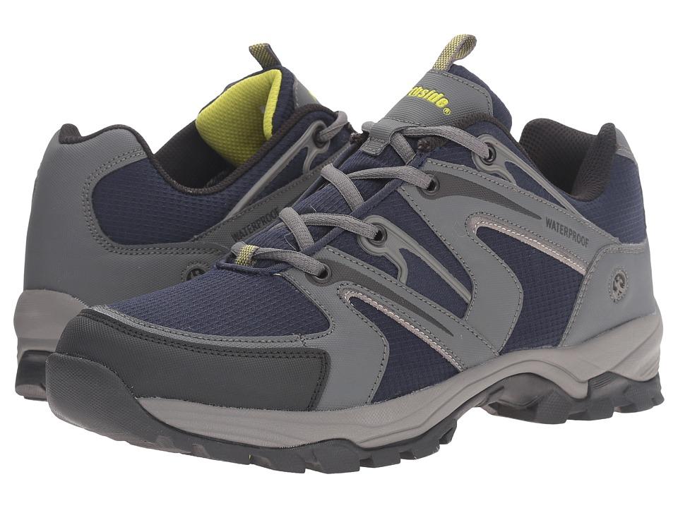 Northside - Levon Waterproof (Navy/Grey) Men's Hiking Boots