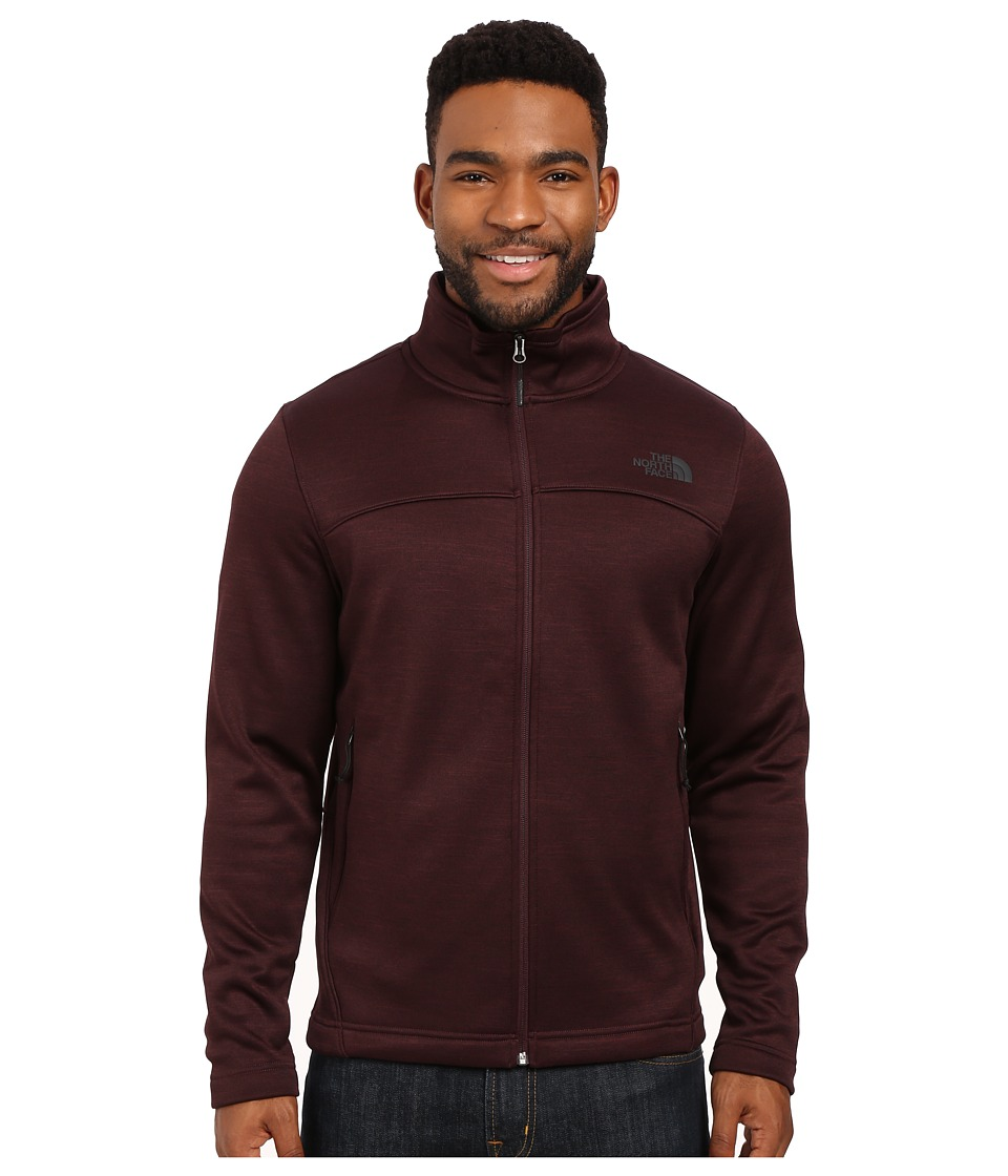 The North Face - Schenley Full Zip (Root Brown Heather) Men's Fleece