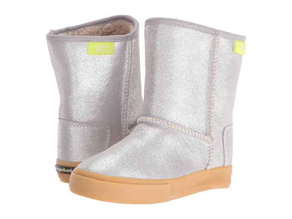 Morgan&Milo Kids - Sophie Boot (Toddler/Little Kid) (Silver) Girls Shoes