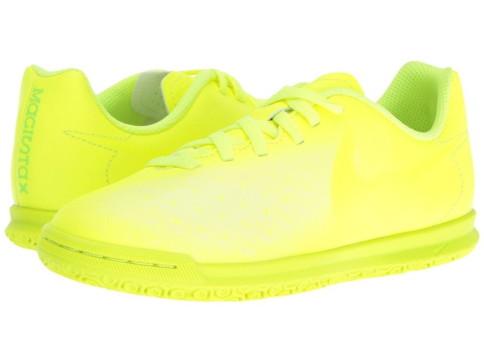 Nike Kids - Magista Ola II IC Soccer (Little Kid/Big Kid) (Volt/Volt/Barely Volt) Kids Shoes