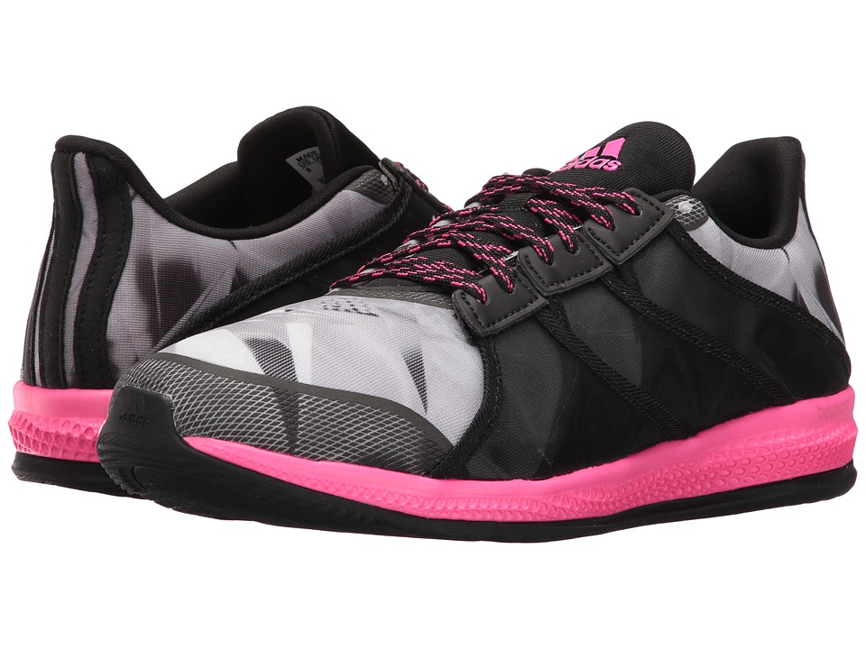 adidas - Gymbreaker Bounce SE (Black/Shock Pink/Grey) Women's Shoes