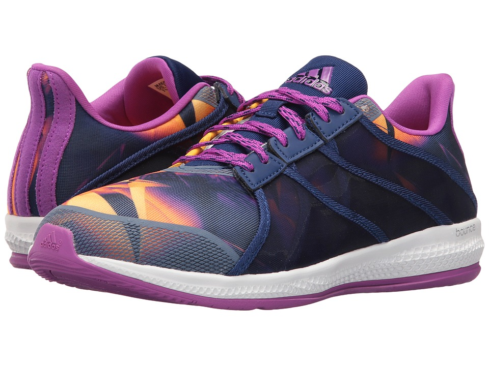 adidas - Gymbreaker Bounce SE (Shock Purple/Gold/White) Women's Shoes
