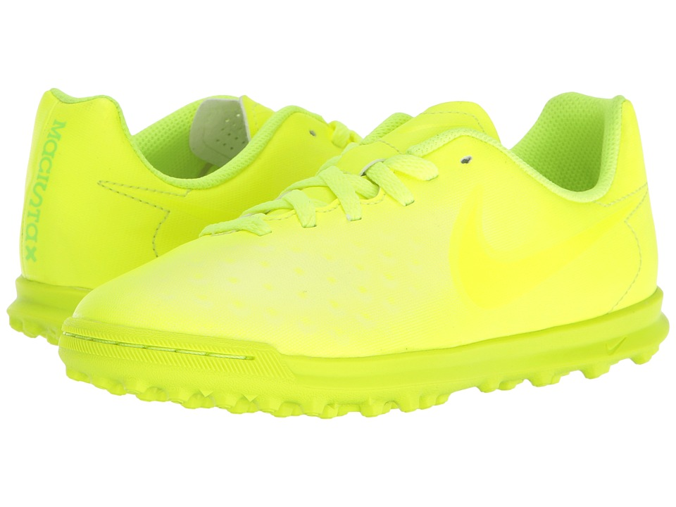 Nike Kids - Magista Ola II TF Soccer (Little Kid/Big Kid) (Volt/Volt/Barely Volt) Kids Shoes