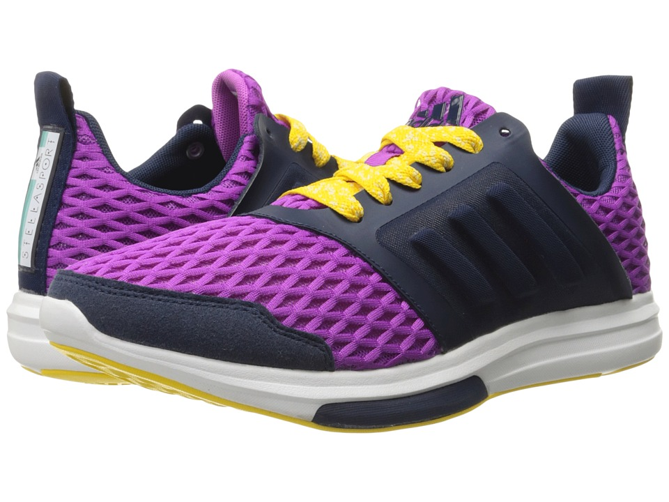 adidas - Stellasport Yvori (Purple/Yellow/White) Women's Shoes