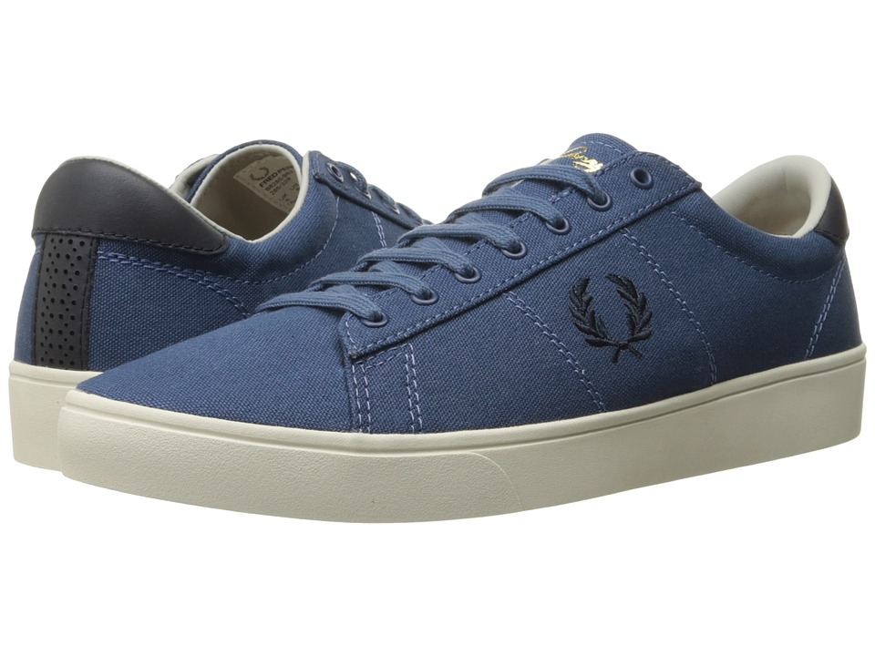 Fred Perry - Spencer Canvas (Midnight Blue/Navy) Men's Lace up casual Shoes