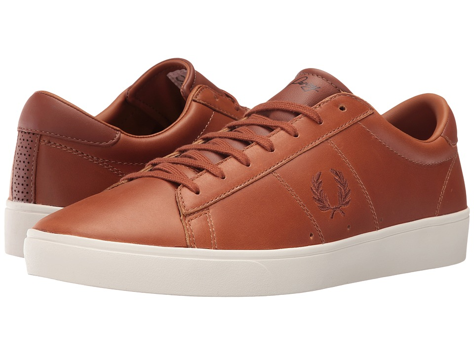 Fred Perry - Spencer Waxed Leather (Tan) Men's Lace up casual Shoes