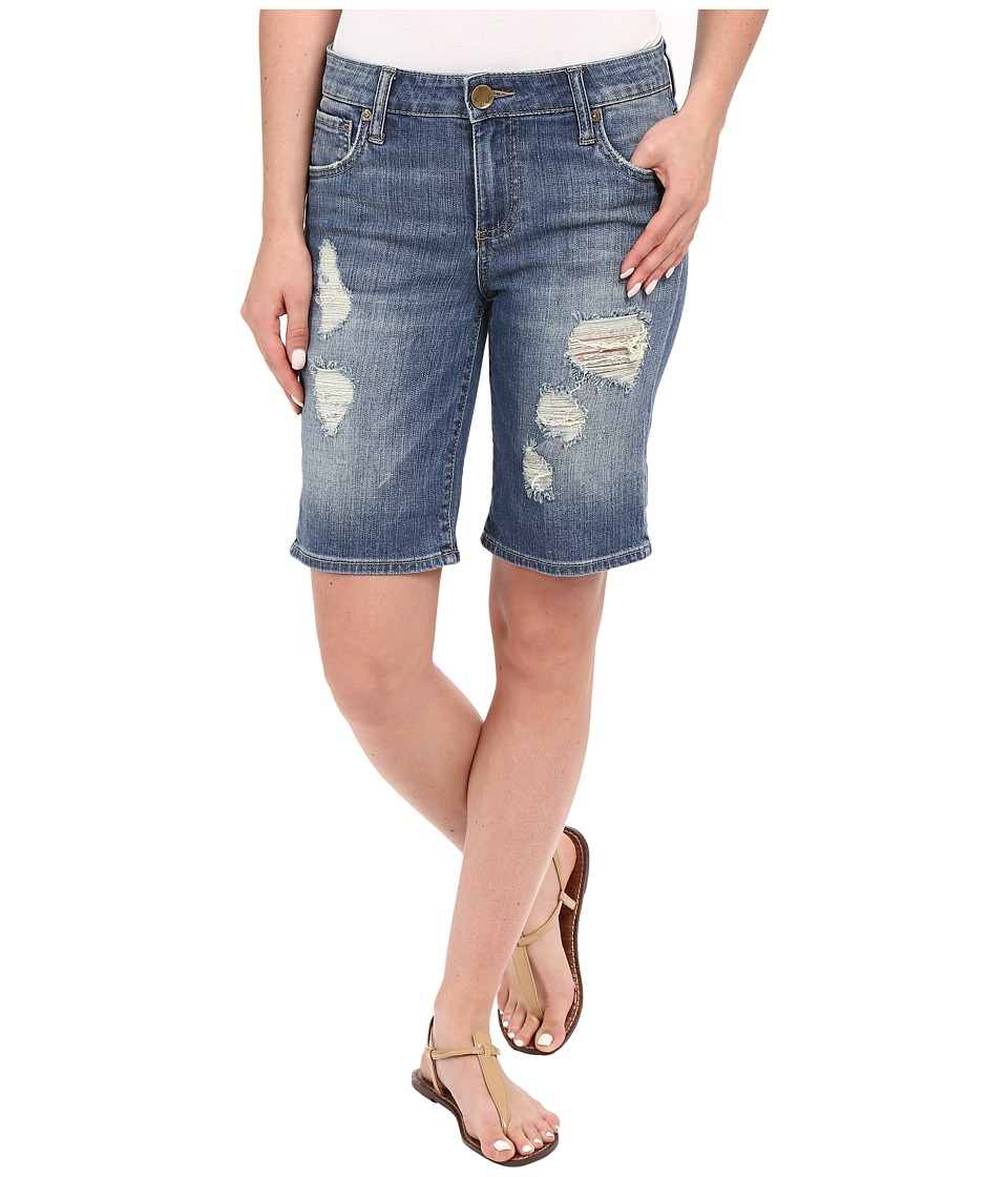 KUT from the Kloth - Catherine Boyfriend Roll Up Shorts in Proper (Proper) Women's Shorts