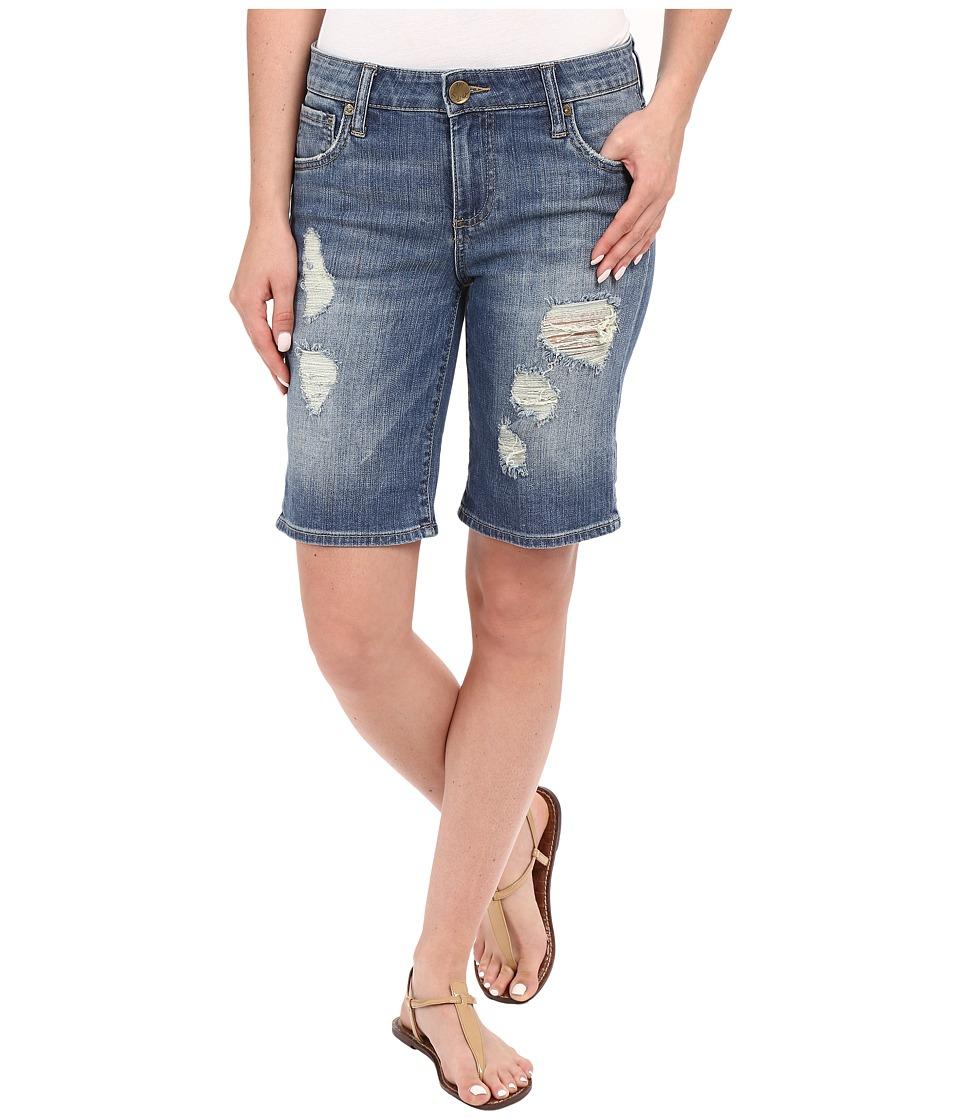 KUT from the Kloth - Catherine Boyfriend Roll Up Shorts in Proper (Proper) Women's Shorts