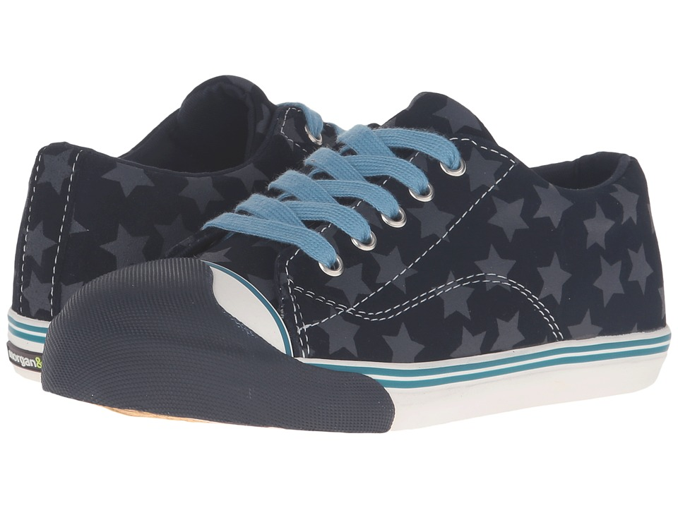 Morgan&Milo Kids - LTT Stars (Toddler/Little Kid) (Navy Stars) Boys Shoes