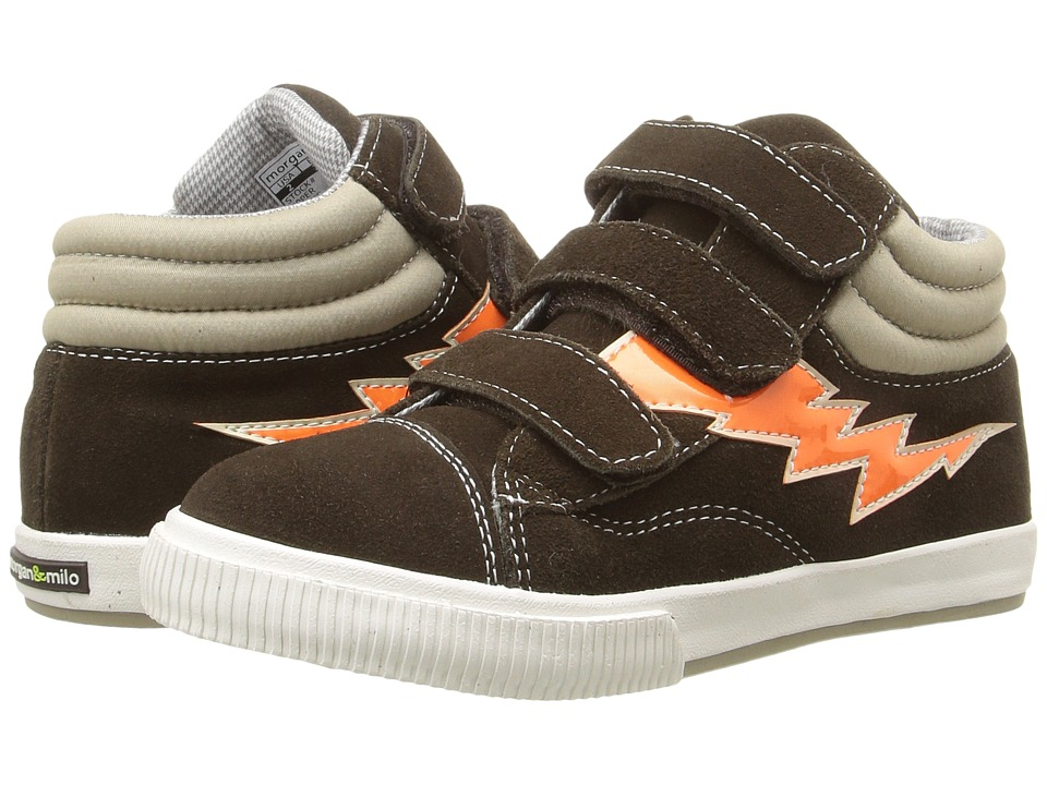 Morgan&Milo Kids - Mix It Up Bolt (Toddler/Little Kid) (Semi-Sweet Chocolate) Boys Shoes