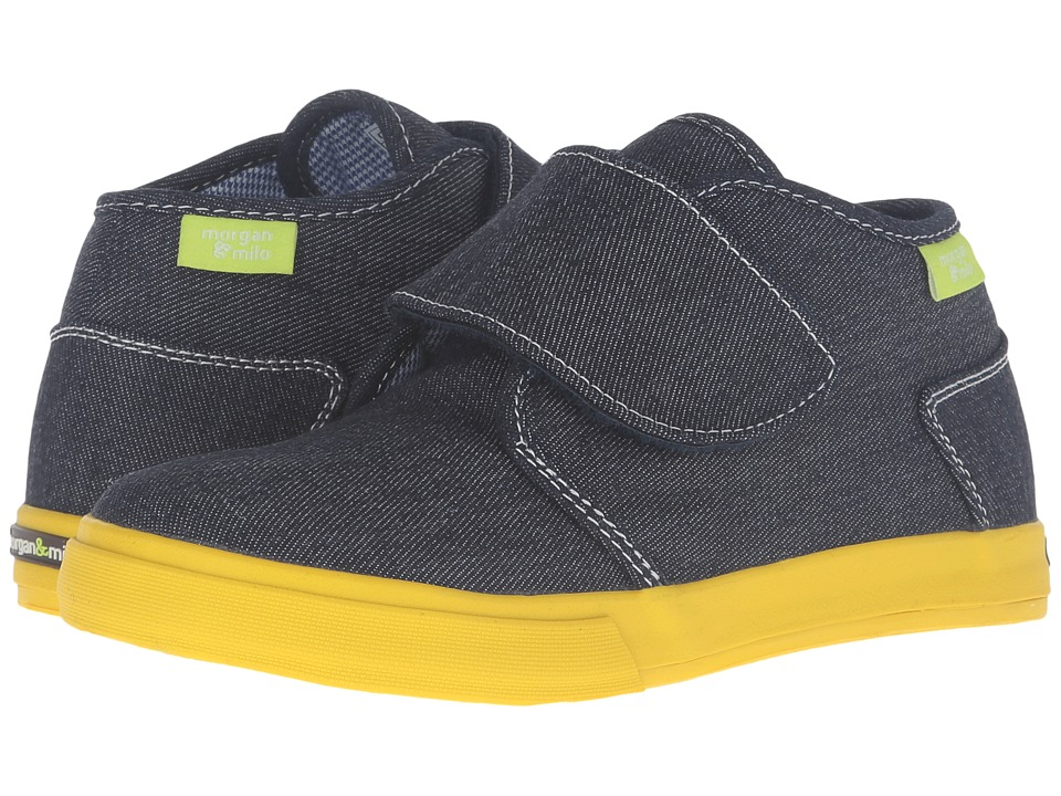 Morgan&Milo Kids - Tucker Chukka HL (Toddler/Little Kid) (Denim) Boys Shoes
