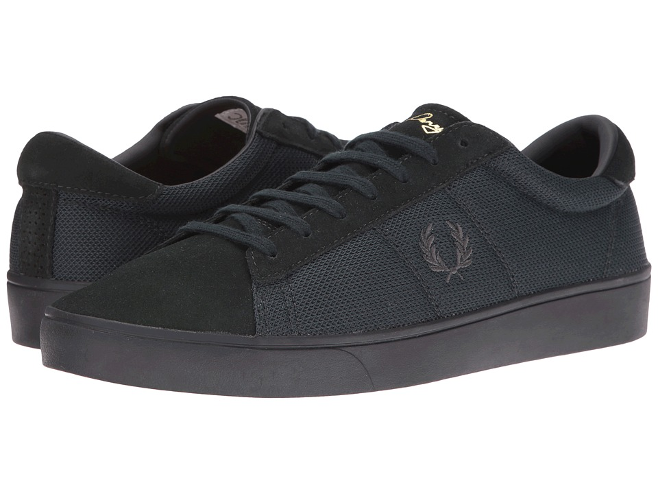 Fred Perry - Spencer Mesh Suede (British Racing Green) Men's Shoes