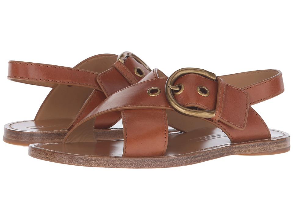 Marc Jacobs - Patti Flat Sandal (Luggage) Women's Sandals