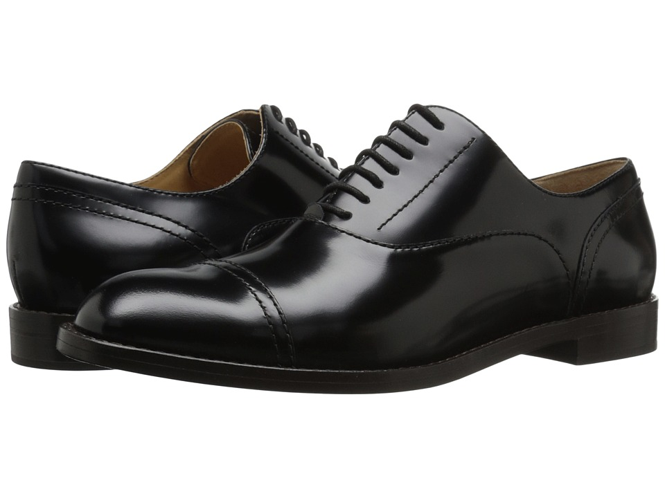 Marc Jacobs - Clinton Oxford (Black) Women's Shoes