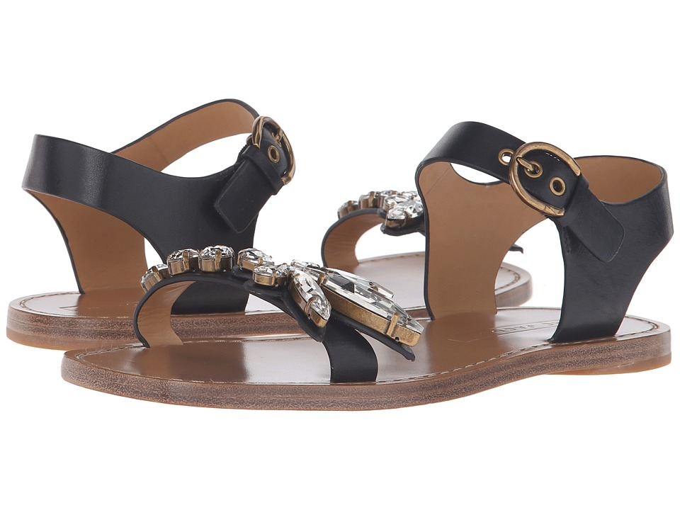 Marc Jacobs Rivington Embellished Sandal (Black) Women