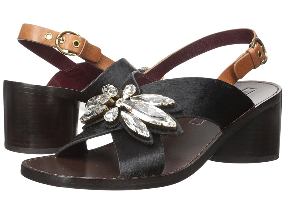 Marc Jacobs Madison Embellished Sandal (Black) Women