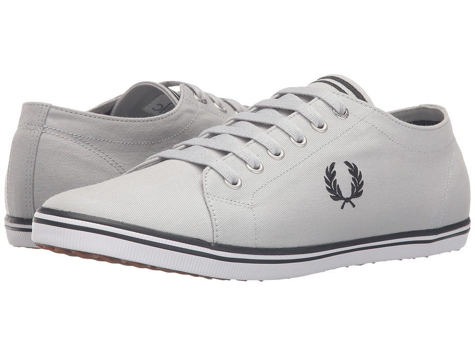 Fred Perry - Kingston Twill (Dolphin/Black) Men's Lace up casual Shoes
