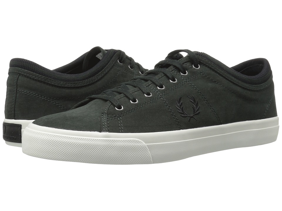 Fred Perry - Kendrick Tipped Cuff Brushed Twill (British Racing Green) Men's Shoes