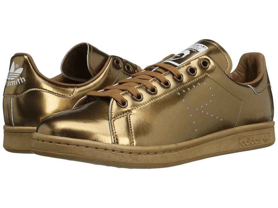 adidas by Raf Simons - Raf Simons Stan Smith (Copper Metallic/Copper Metallic/Copper Metallic) Athletic Shoes