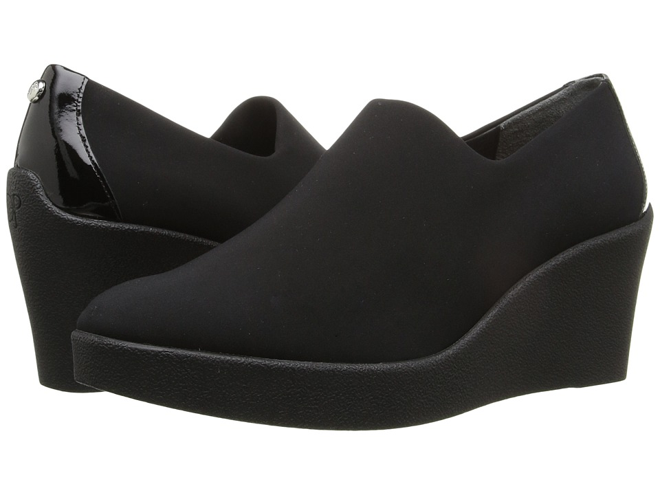 Donald J Pliner - Lilie (Black Crepe) Women's Shoes