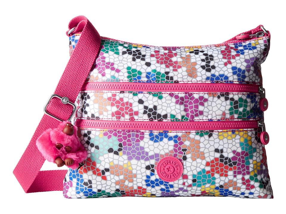 Kipling - Alvar Crossbody Bag (Riverside Crush) Cross Body Handbags