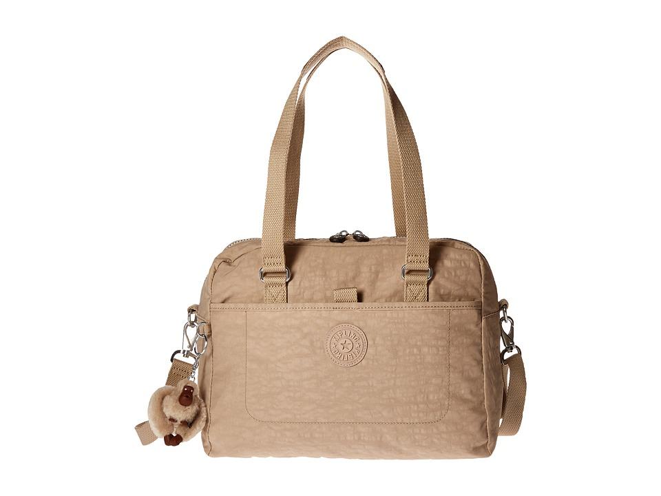 Kipling - Devyn Satchel (Sandcastle) Satchel Handbags