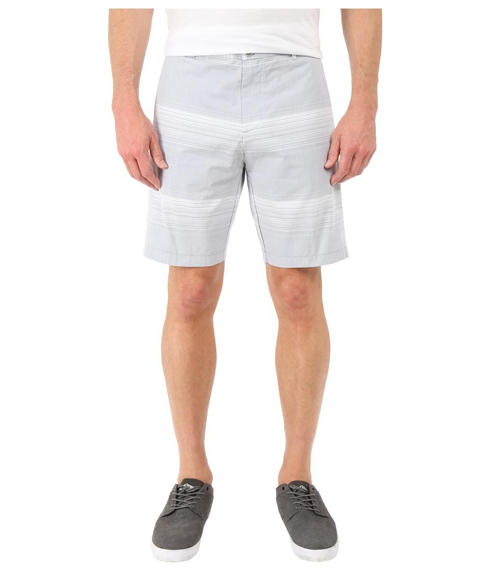 Calvin Klein Horizontal Stripe Short (Gray Violet) Men