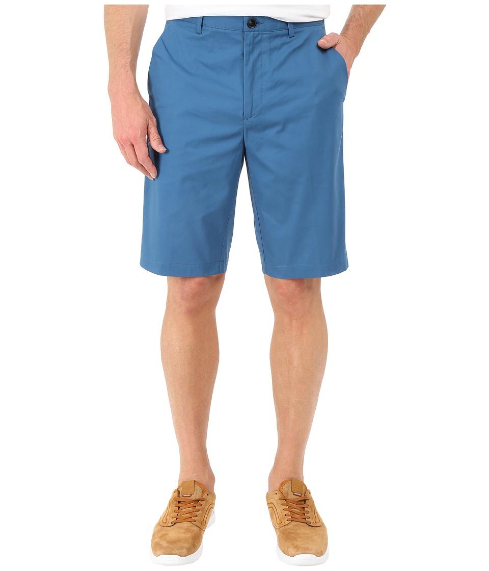Calvin Klein - Classic Fit Twill Walking Short (Oceana) Men's Shorts
