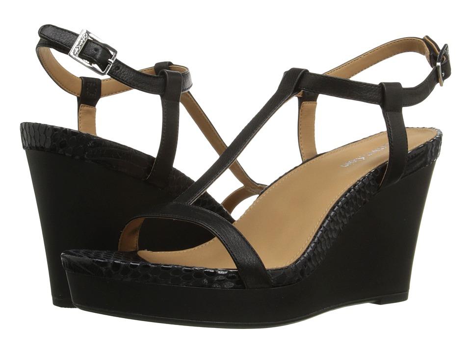 Calvin Klein - Jiselle (Black Toscana Leather) Women