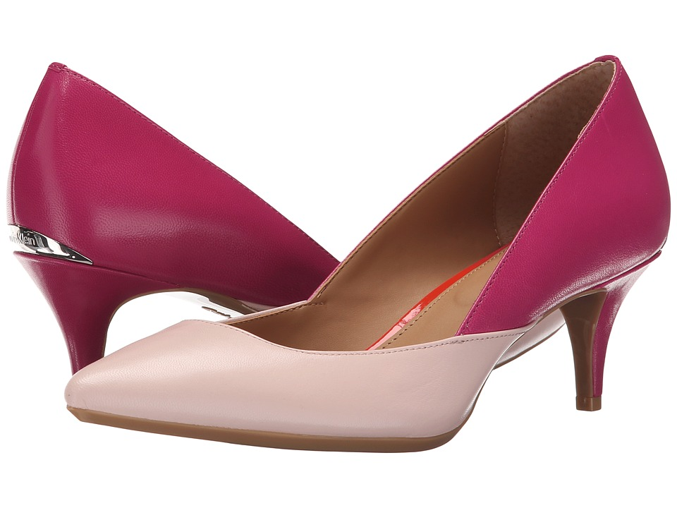 Calvin Klein - Patna (Dancer Pink/Jazzberry Leather) Women's Shoes