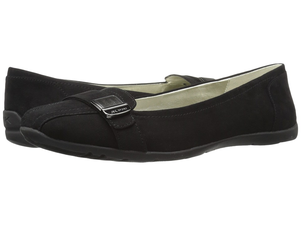 Anne Klein Lavon (Black Fabric) Women