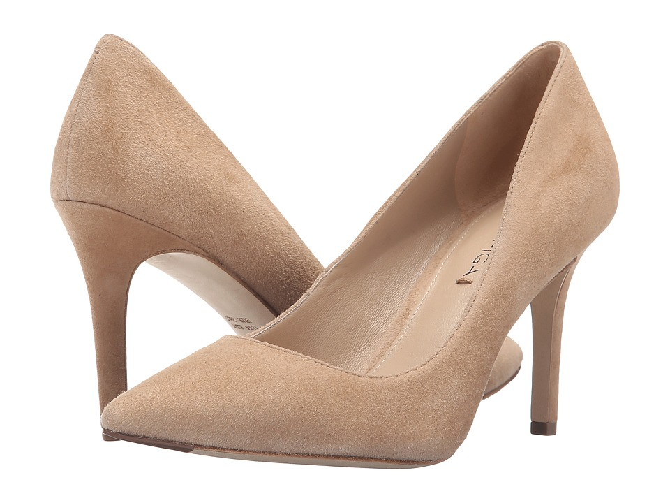 Via Spiga Carola (Light Camel Kid Suede Leather) High Heels