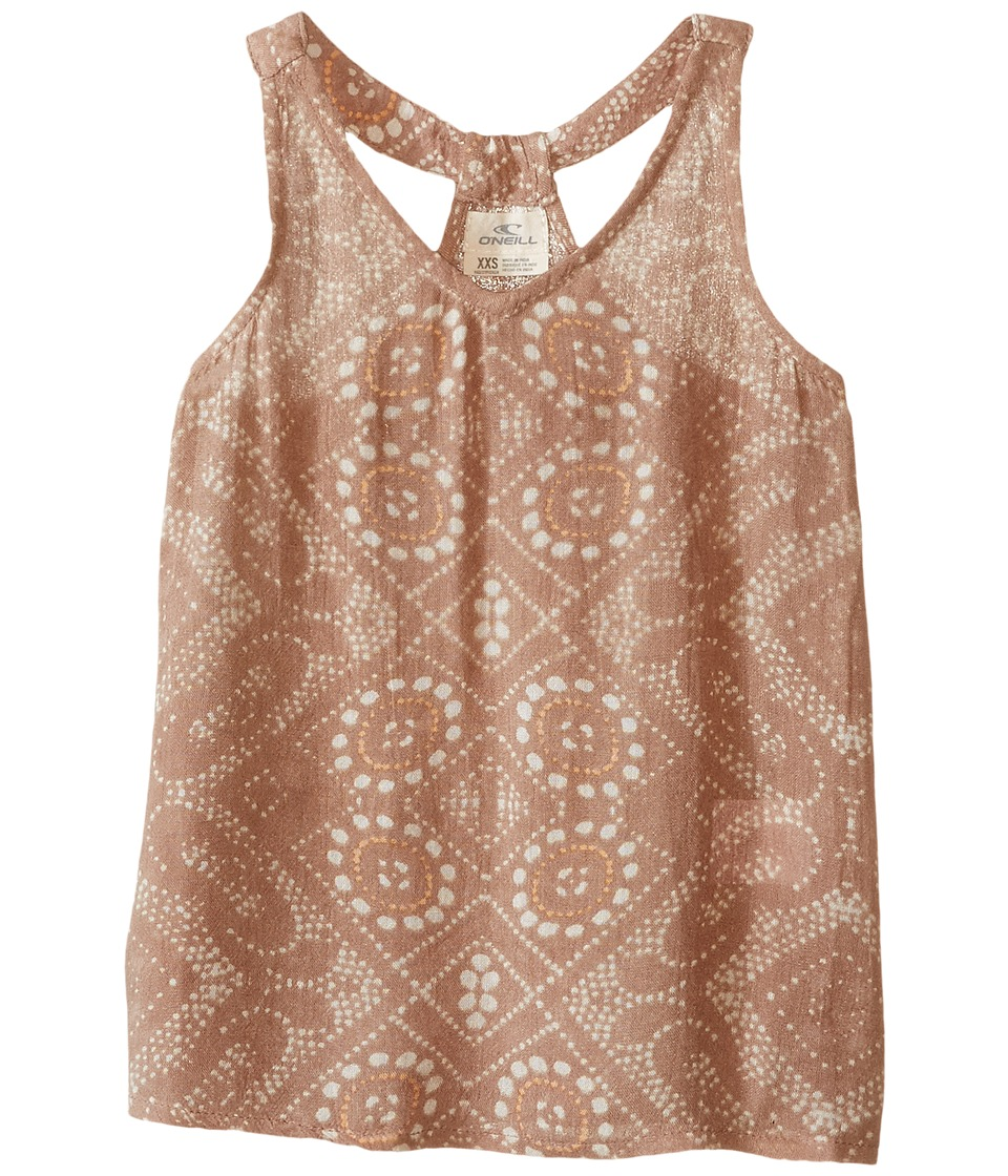 O'Neill Kids - Bree Tank Top (Little Kids/Big Kids) (Moonbeam) Girl's Sleeveless