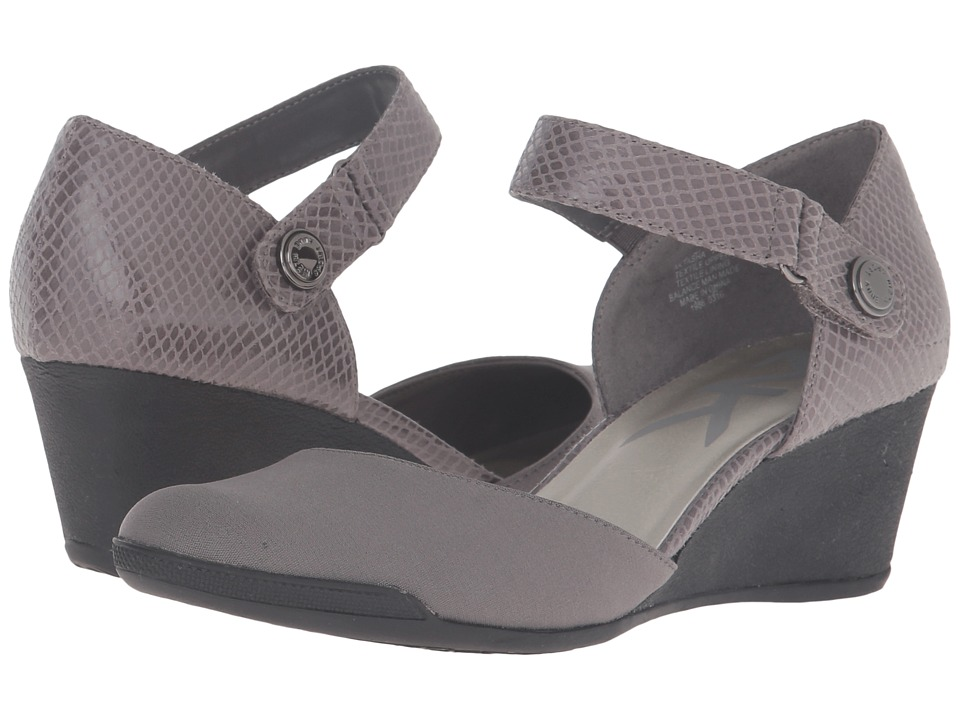 Anne Klein - Tasha (Dark Grey/Dark Grey Fabric) Women's Shoes