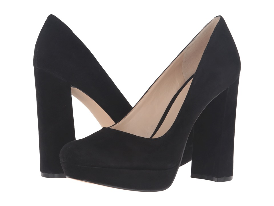 Nine West - Delay (Black Suede) Women's Shoes