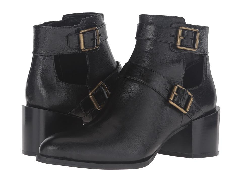 Nine West Evalee (Black Leather) Women
