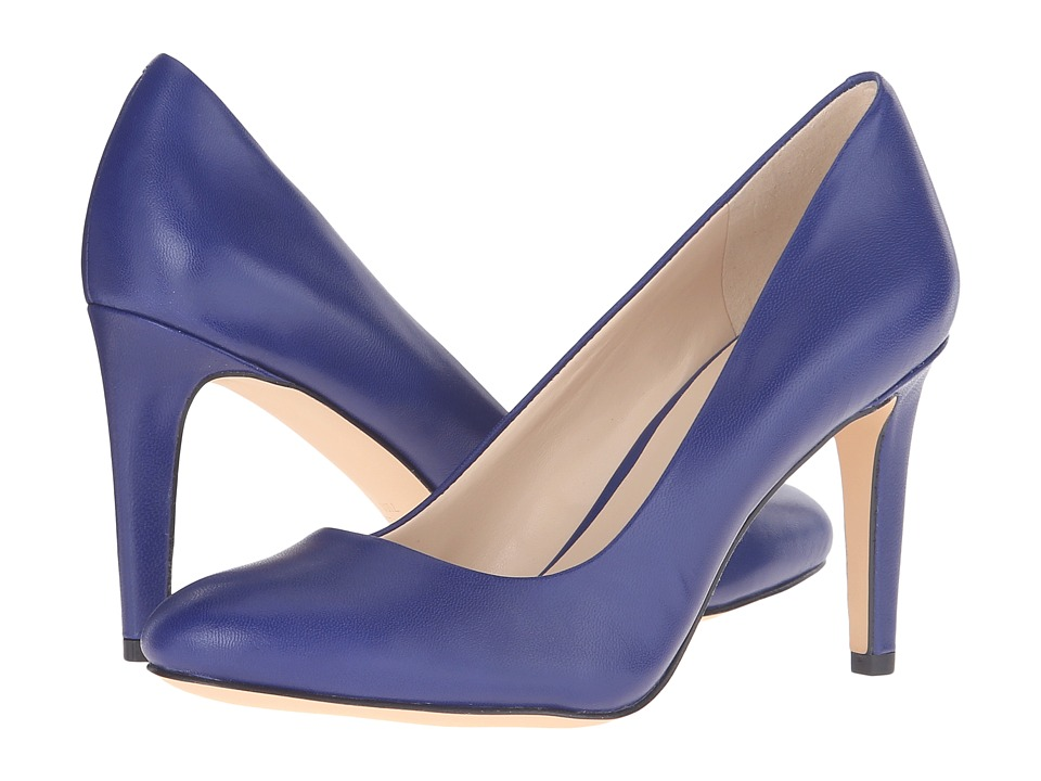 Nine West - Handjive (Blue Leather) High Heels