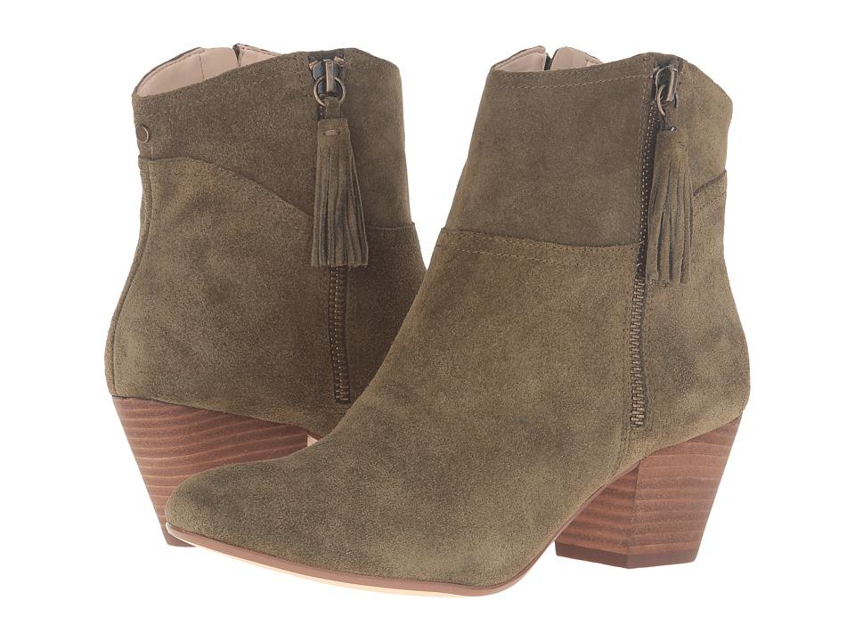 Nine West - Hannigan (Dark Green/Dark Green Suede) Women's Shoes