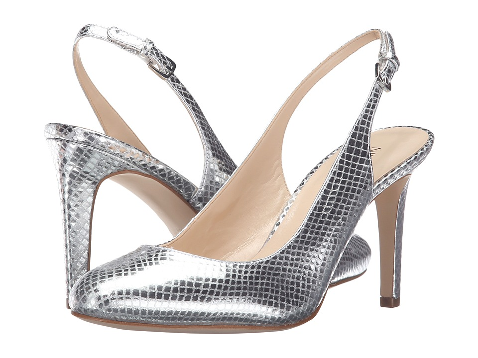 Nine West - Holiday (Silver Metallic) Women's Shoes