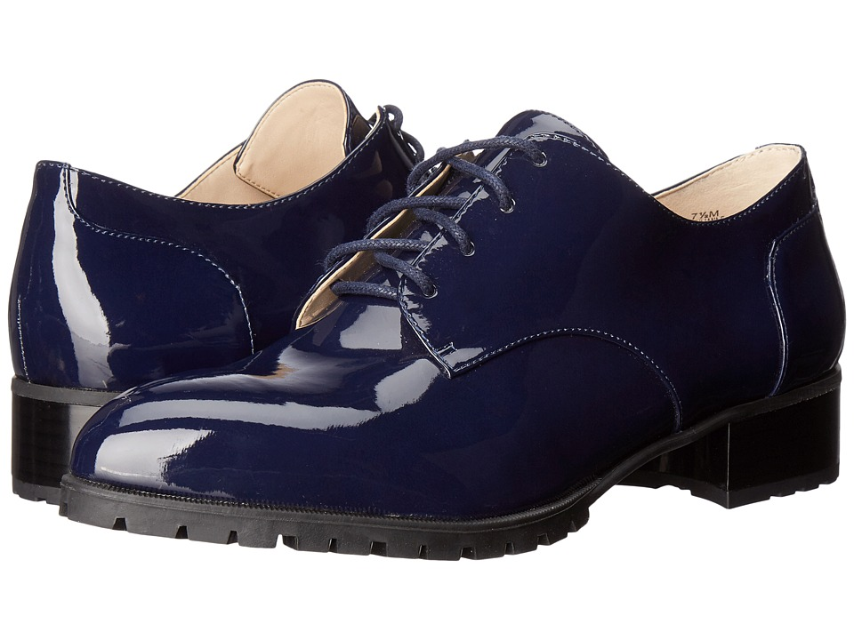Nine West - Lilianne (Navy Synthetic) Women's Shoes